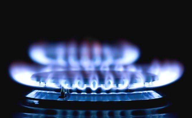LP gas propane flame