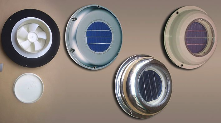 SOLAR EXTRACTOR FANS