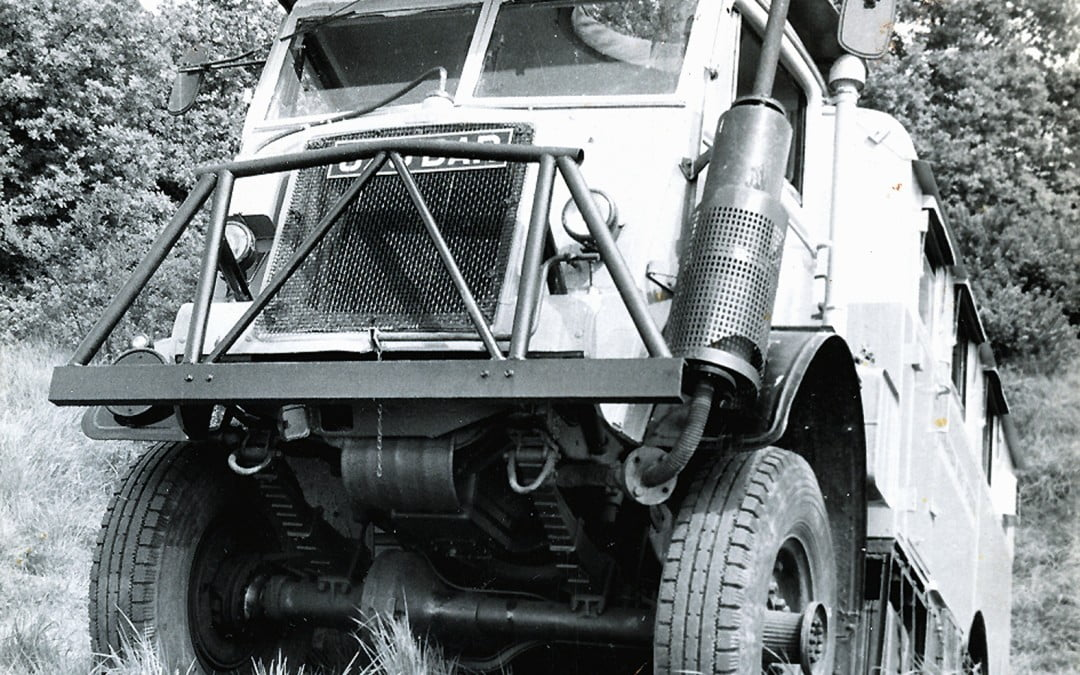 Driving across Africa – in 1956/60 the very last time it was possible