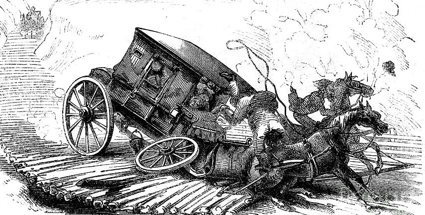 stagecoach accident-1856-granger