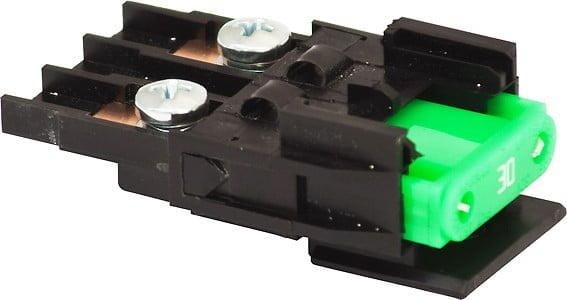blade fuse mounted