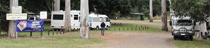 rest area granite creek QLD explore Australia