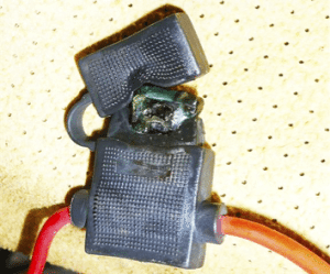 Blade fuse problems in caravans – they may burn or melt