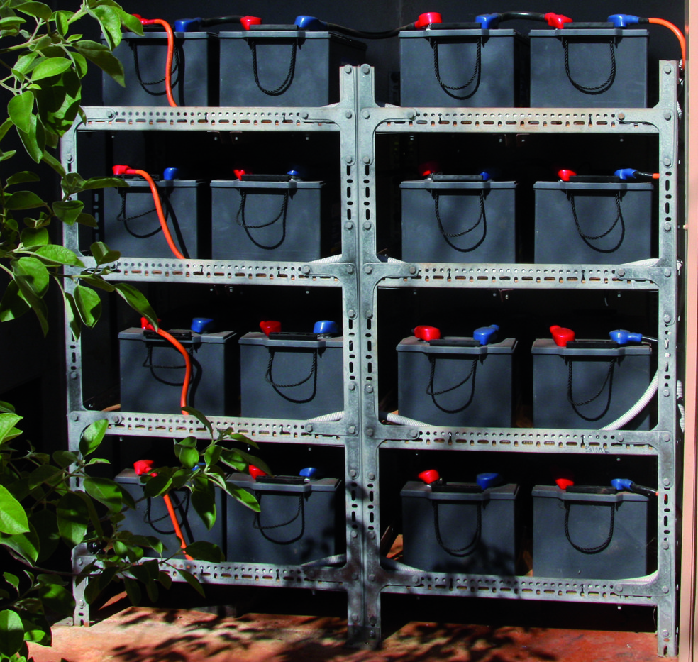 Battery capacity required for home and property solar, Battery capacity required for home and property solar